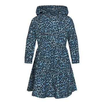 Liberté Ami (Kids) - Melissa Dress - Dusty Blue Leo