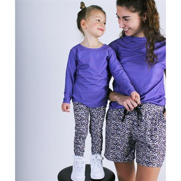 Liberté Ami (Kids) - Alma Pants - Purple Flower